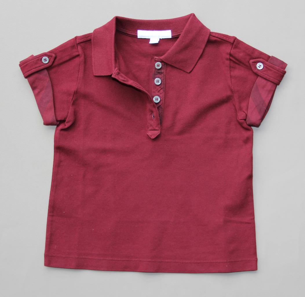 new authentic burberry girls check polo shirt tshirt 4 5