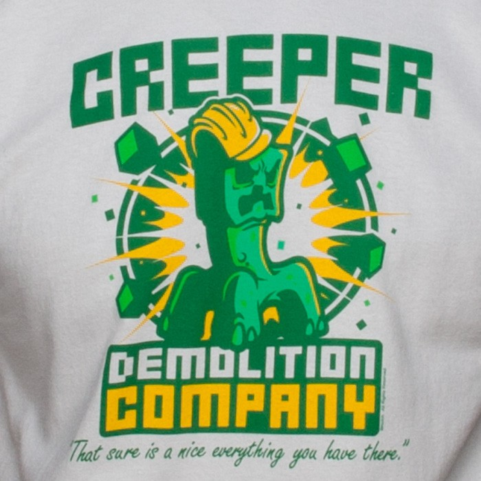 OFFICIAL-MINECRAFT-CREEPER-DEMOLITION-COMPANY-YOUTH-T-SHIRT-YOUTH-SIZES-XS-XL