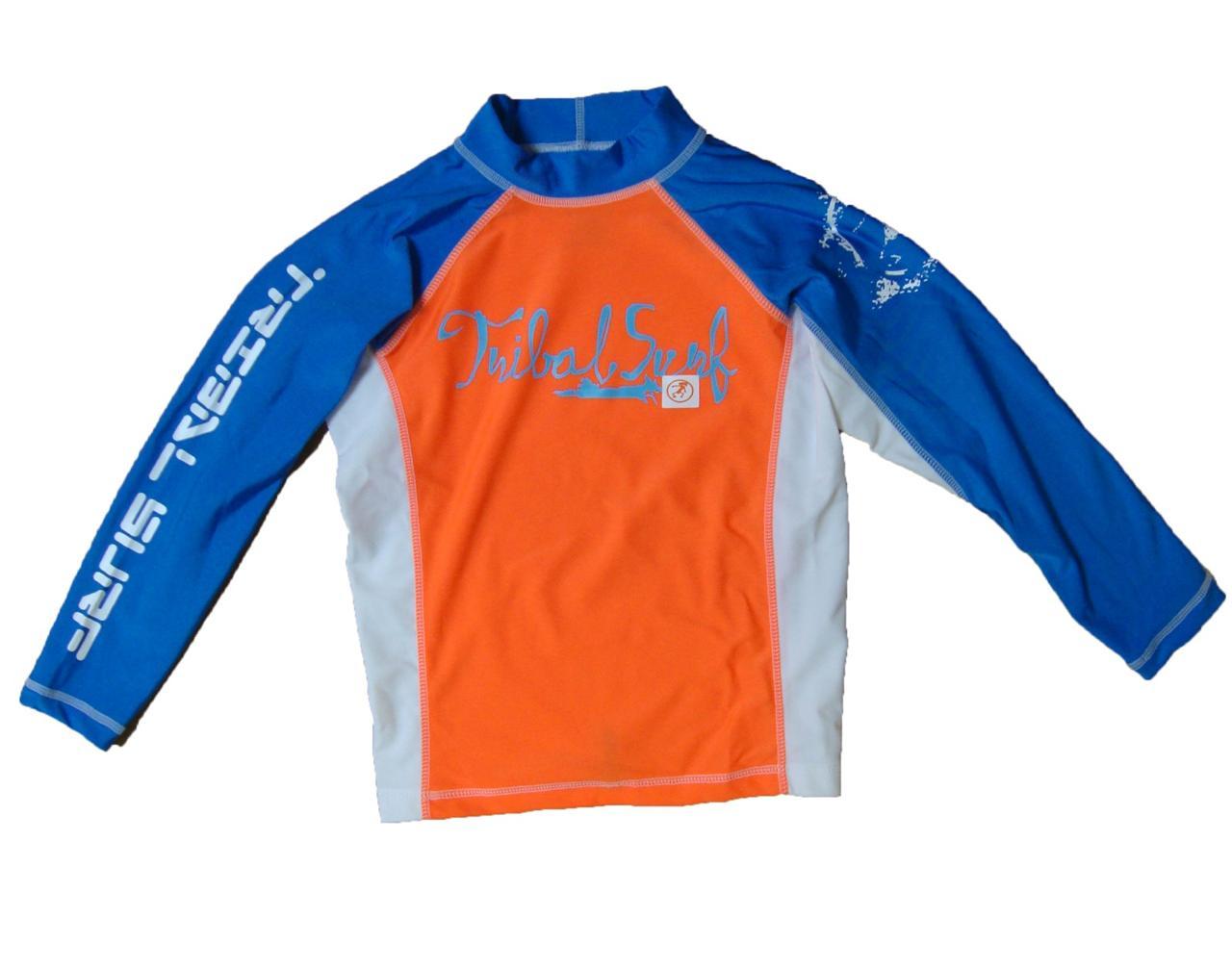 Unisex kids spf 50 surf shirt rash guard long sleeve kids Rash guard shirts kids
