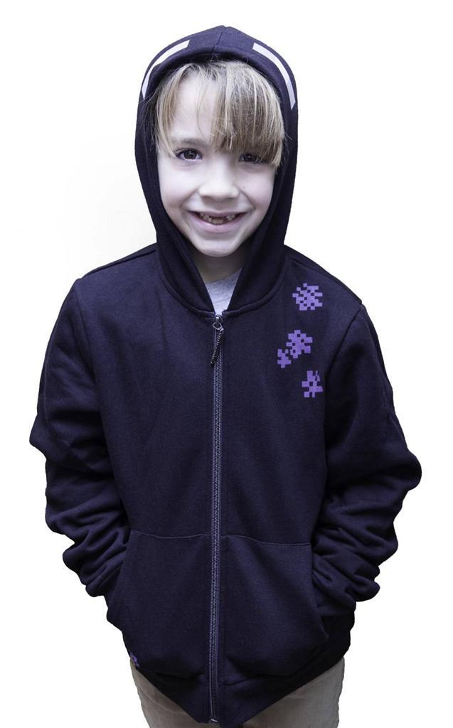 Minecraft enderman hoodie