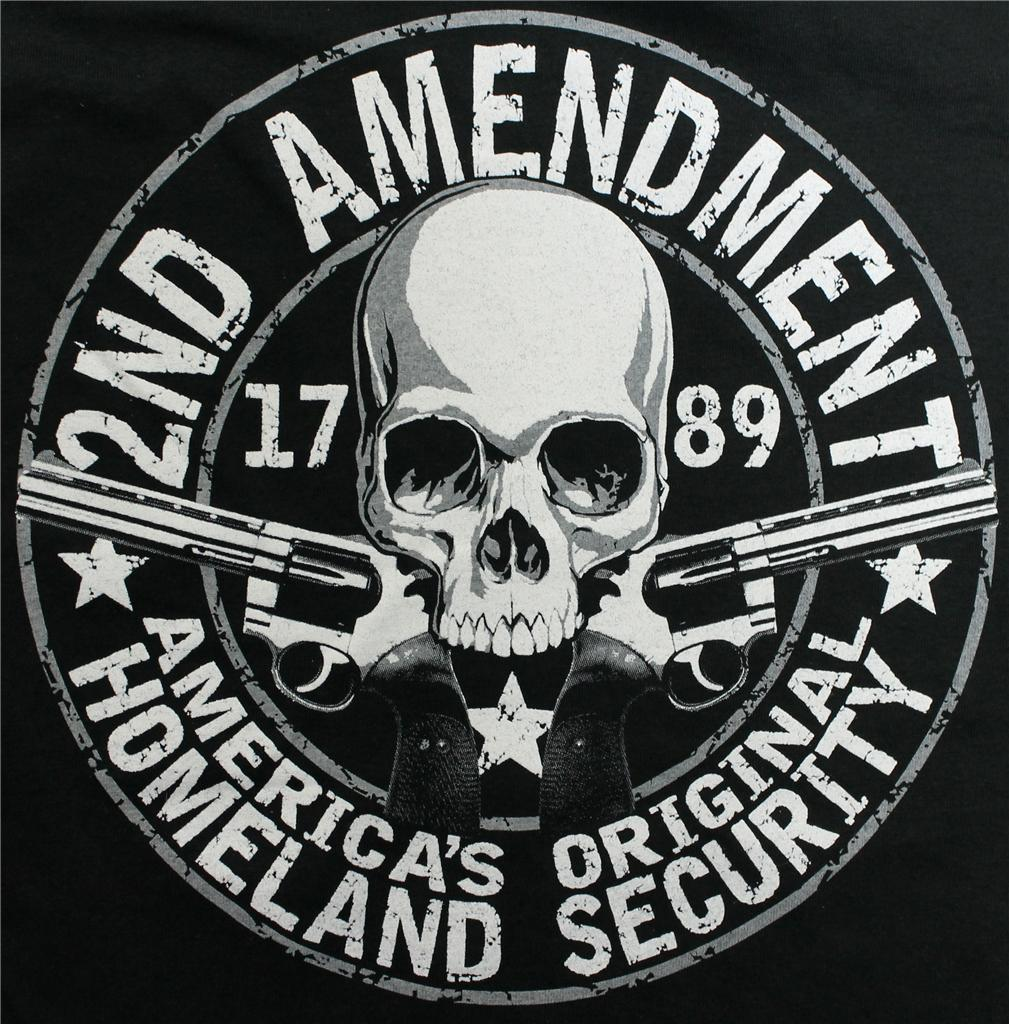 2nd amendment 1789 original homeland security mens t shirt sizes small
