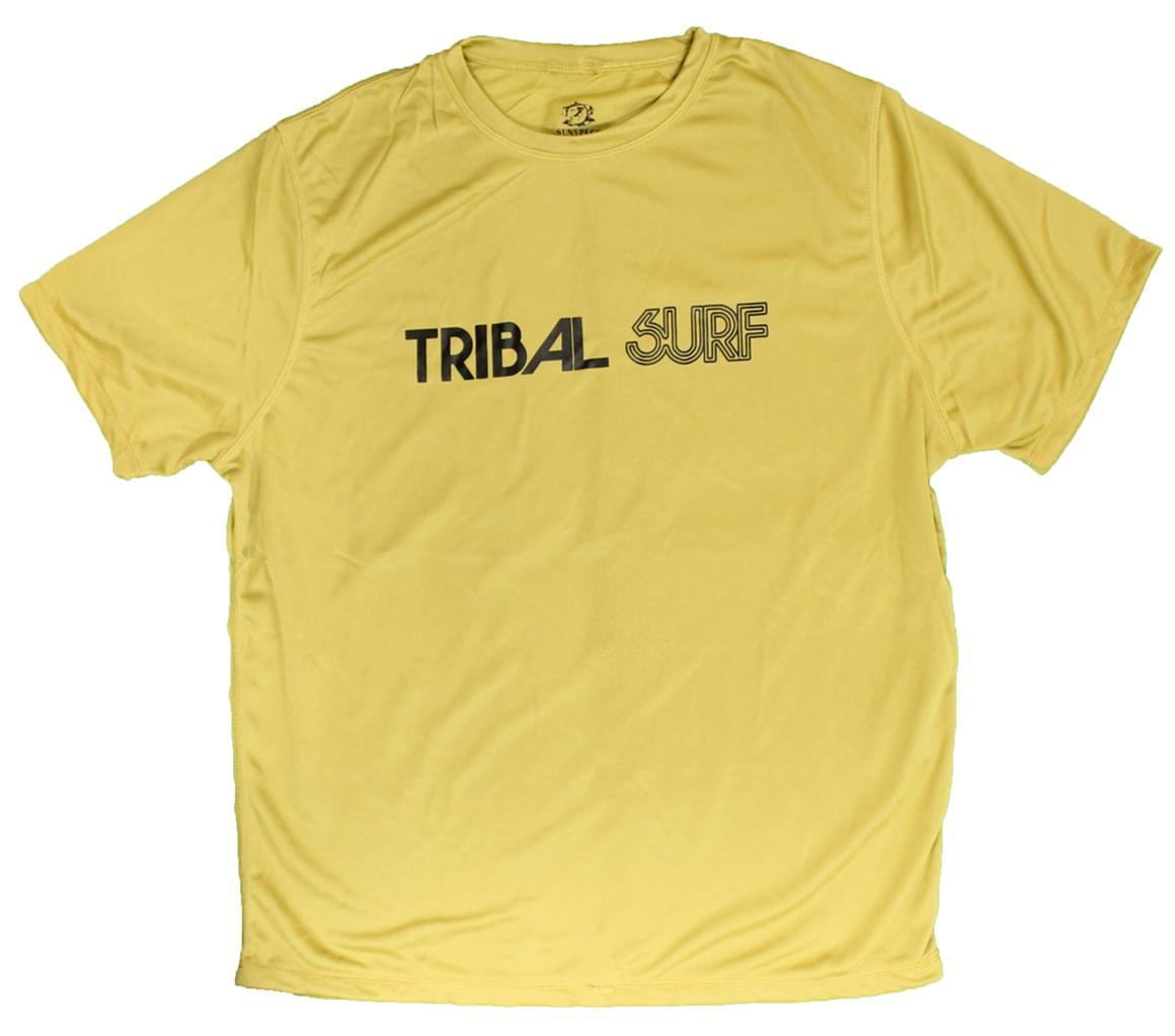 Mens Spf 50 Surf Shirt Rash Guard Loose Fit Short Sleeve T