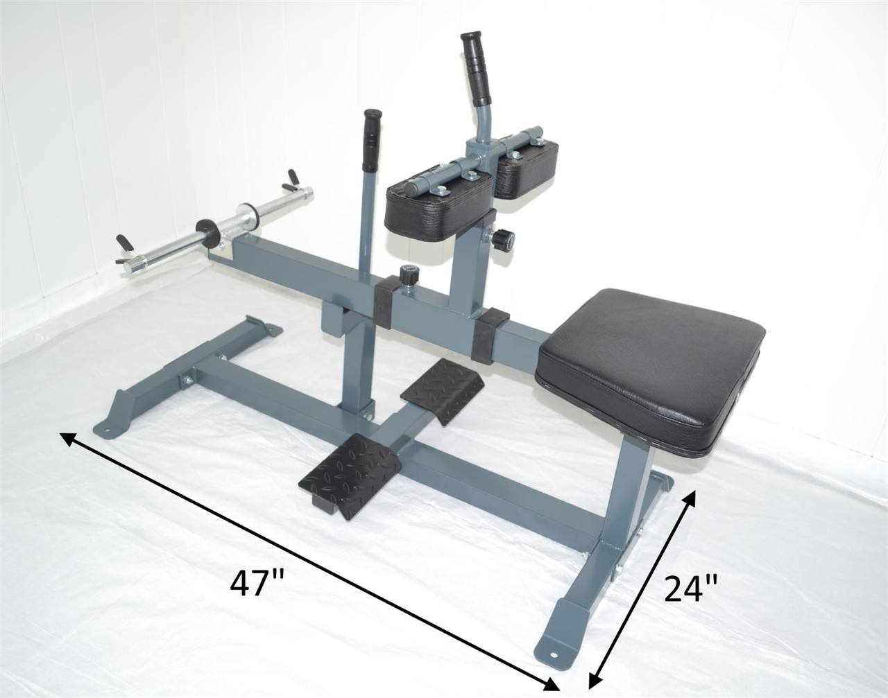 seated calf raise machine weight