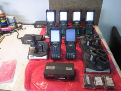 Lot Of Symbol Motorola MC9060 MC9090 CRD9000 SAC9000
