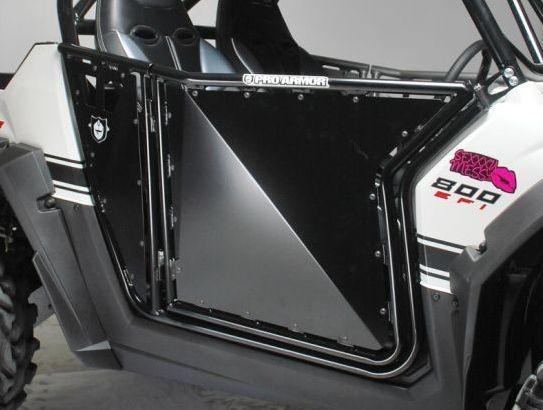 Pro Armor RZR/RZR S/RZR XP Black Sheet Metal Doors $570.00 & Pro Armor RZR/RZR S/RZR XP Black Sheet Metal Doors » ATV Parts ATV ...