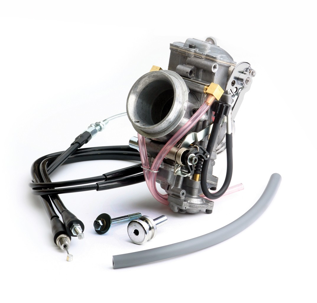 Keihin 41mm fcr carb kit for the yamaha rhino 660 comes with jetting
