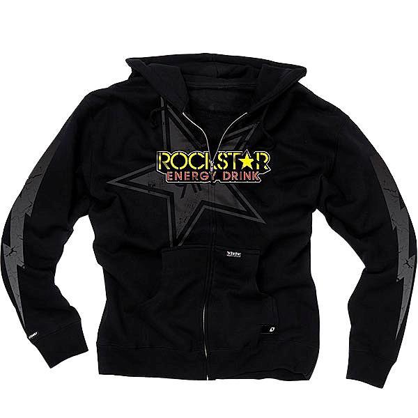 One-Industries-ROCKSTAR-LIGHTNING-Mens-Zip-Hoodie-Sweatshirt-New