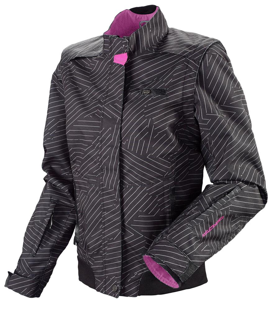 Details about Fox Racing Womens Zip Up Track Jacket Pink Magenta Small