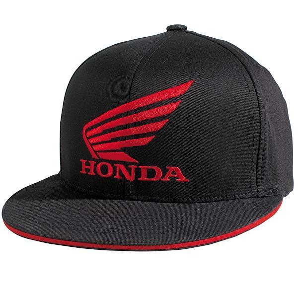 NEW Fox Racing HONDA FlexFit Hat BLACK 58317 Flex Fit Cap