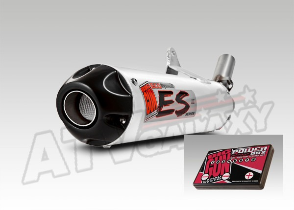 big gun eco exhaust pipe muffler efi tfi fuel polaris rzr 800 s 2008 2009 2010 ebay. Black Bedroom Furniture Sets. Home Design Ideas
