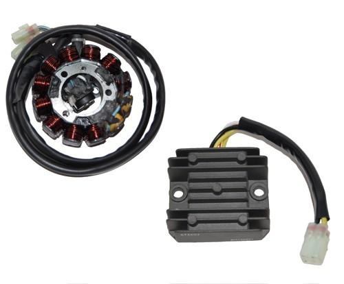 electrosport stator & regulator/rectifier kit honda ... honda crf regulator rectifier wiring