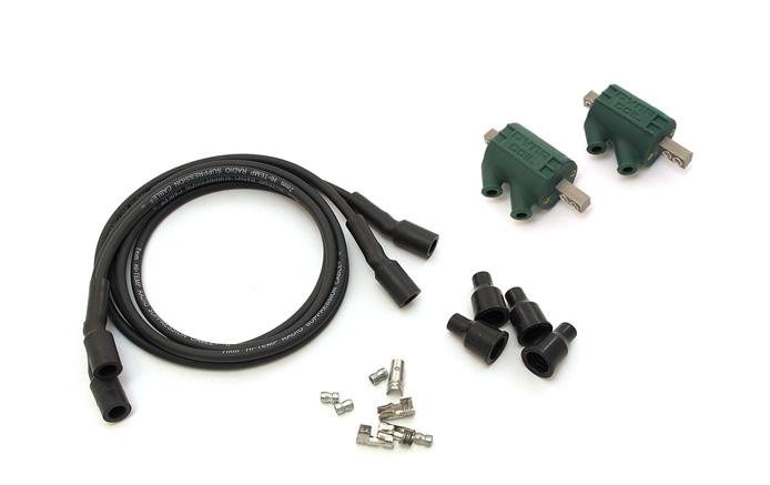 Dyna Ignition Coils 3 Ohm Dual Output Dc1 1 Wires Dw 200