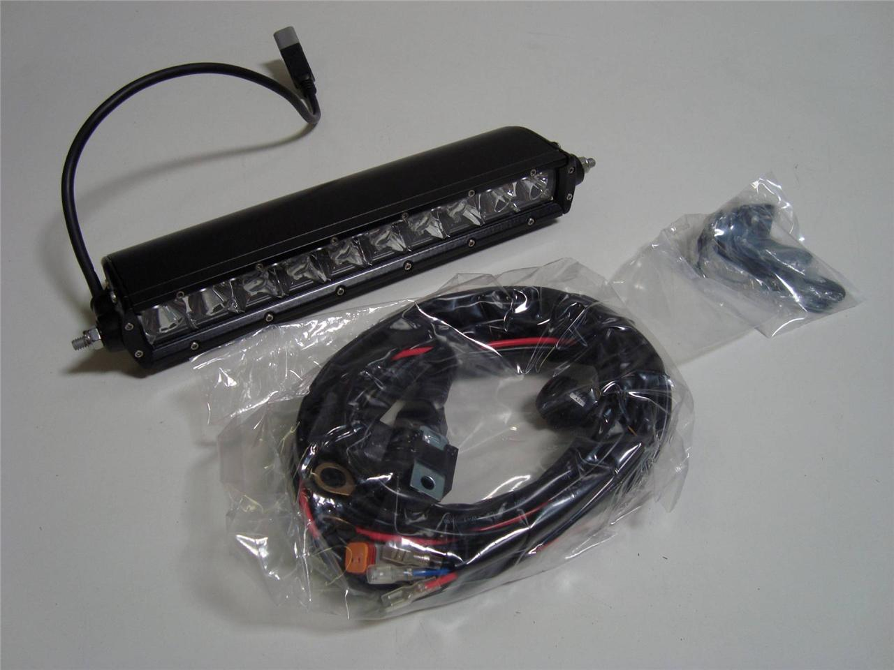 rigid 10 u0026quot  sr hybrid led flood  spot combo light honda trx