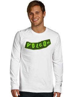 BNWT-Volcom-Archival-Long-Sleeve-Tee-White-Mens-XLarge
