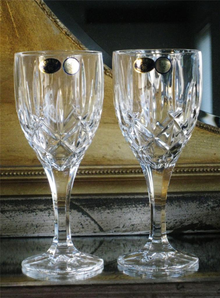 Crystal Bohemia Wine Glasses