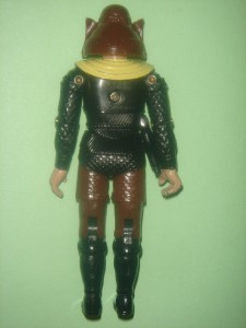 This auction is from the vintage 1979 Buck Rogers figure line (3 3/4