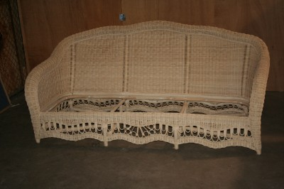 ethan allen wicker furniture chair sofa chaise lounge qty 12 ebay