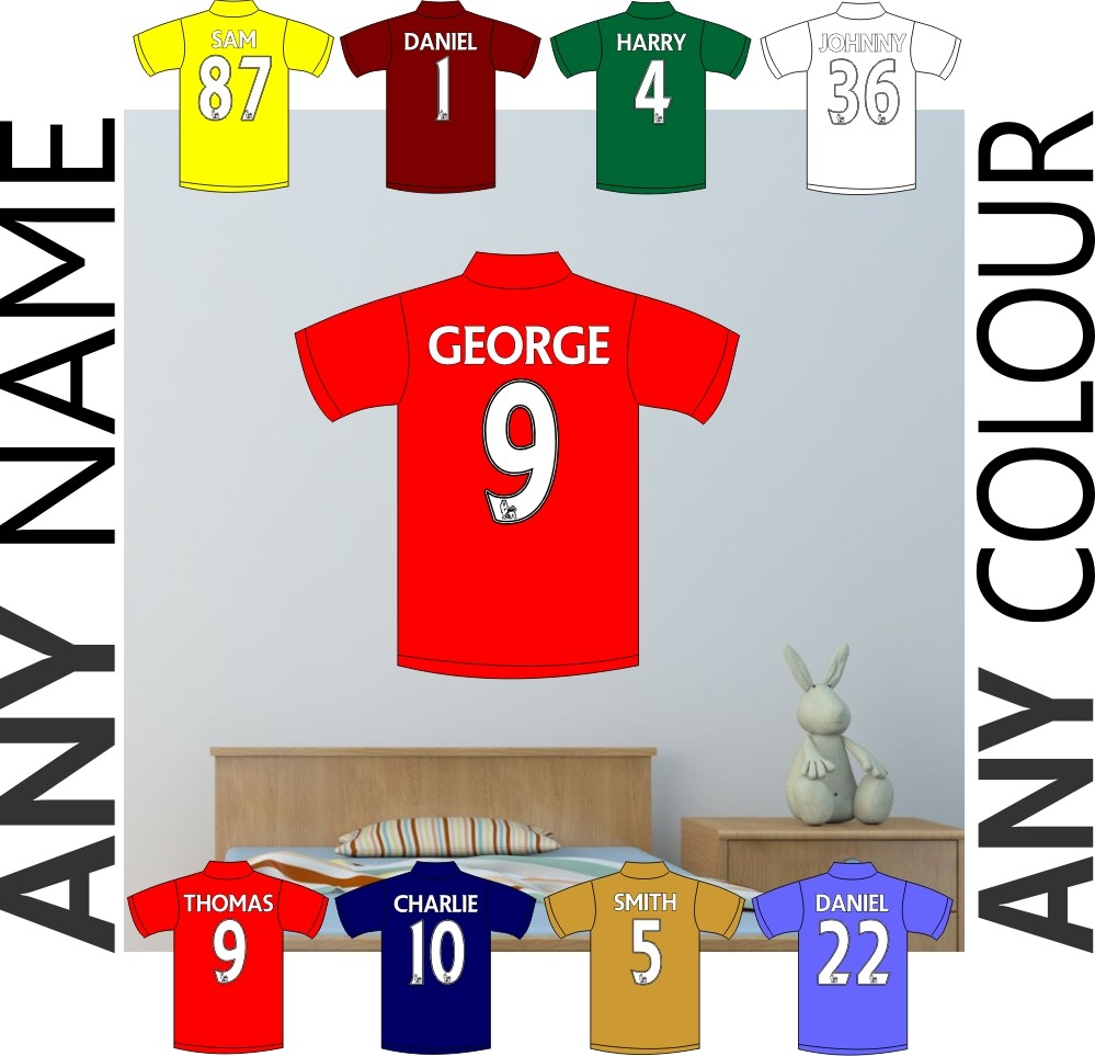 football wall decals bedroom walls color the walls of your house football wall decals bedroom walls football shirt wall sticker boys girls bedroom