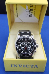 Mens Invicta 6977 Pro Diver Scuba Chronograph Watch New