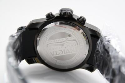 Mens Invicta 6986 Pro Diver Scuba Black Chronograph Watch Combat