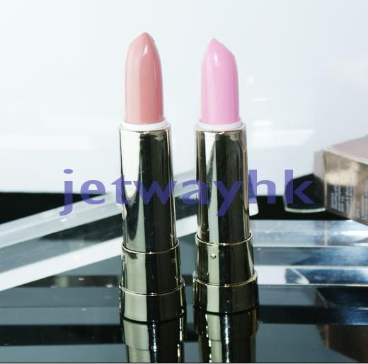 2x-New-Women-039-s-Makeup-Cream-Moisture-Lipstick-Pink-amp-Nude