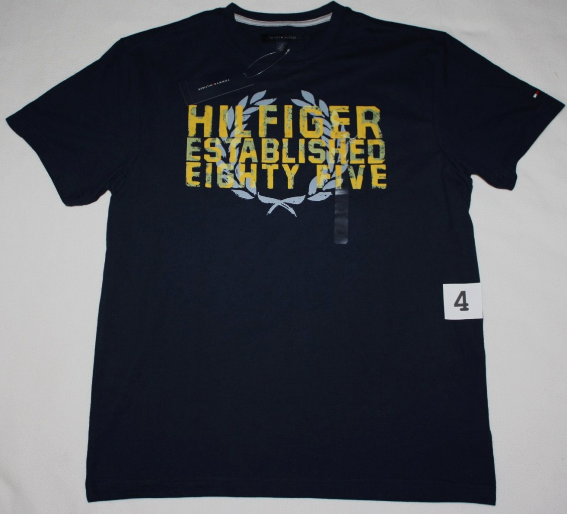 Nwt tommy hilfiger men 39 s graphic t shirt tee shirt s m l for T shirt graphics for sale