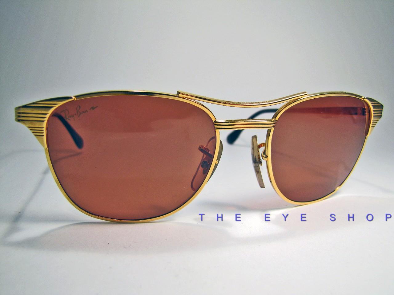 ad5b8a53b0 Vintage B L Ray Ban Signet Wayfarer Sunglasses Chromax