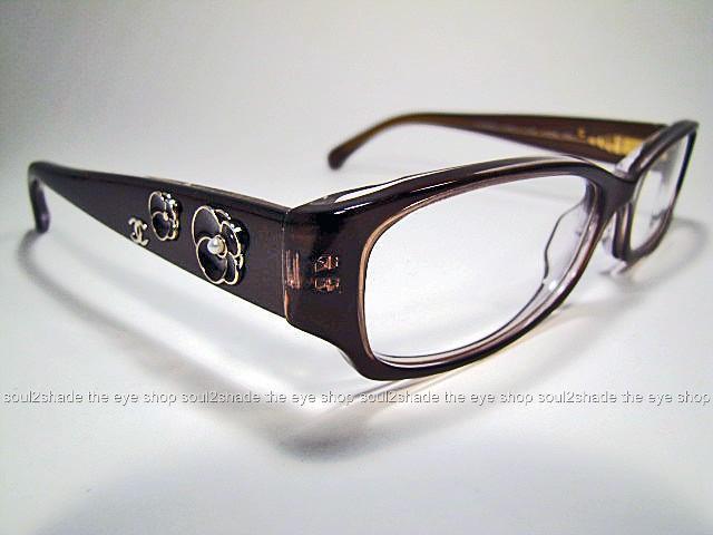 New Chanel Eyeglass Frames : New Authentic Chanel 3198H Eyeglasses Frame Brown Rx eBay