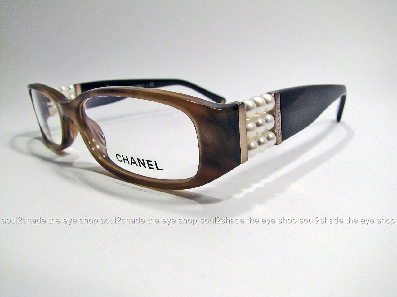 Glasses Frames By Chanel : New Authentic Chanel 3155h Perle Eyeglasses Frame Rx ...