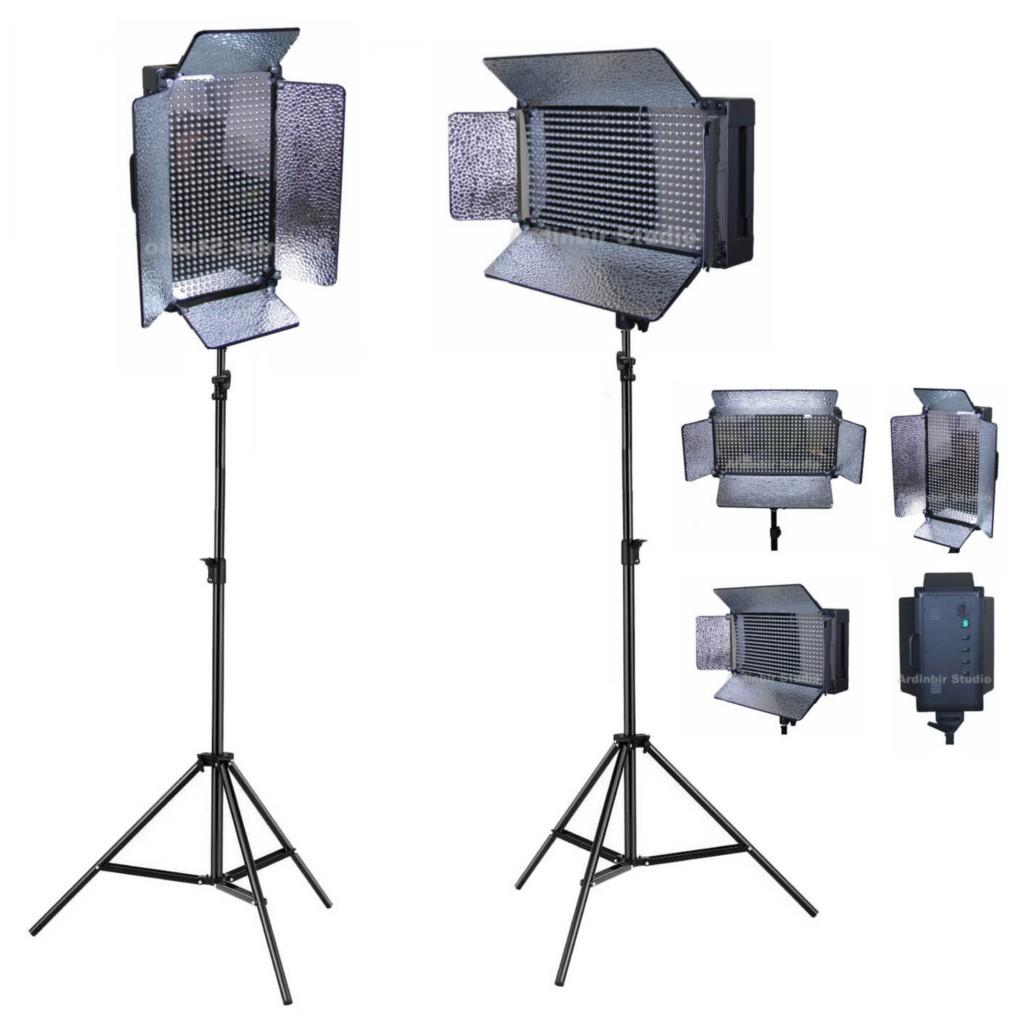 Light Stand Ebay: LED Film & Studio Camera Video Light Lighting Kit Stand