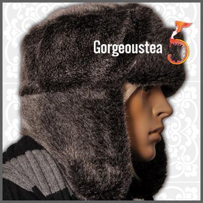 AM806-Soft-Warm-Winter-Russian-Faux-Fur-Mens-Hat-Cap