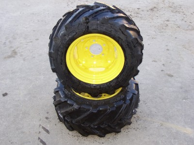 New Rear Bar Tires Rims Heavy Duty R1 Garden Tractor John Deere Ebay