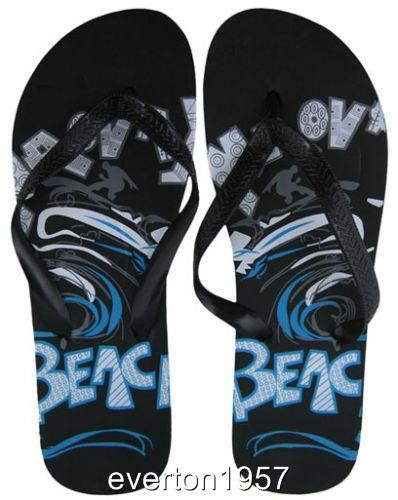 Mens-Boys-Beach-Summer-Flip-Flops-Thongs-Mules-Toe-Strap-Size-UK-7-12-Euro-40-47
