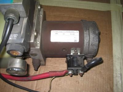 Monarch hydraulic 12 volt pump motor liftgate snow plow ebay for 12 volt hydraulic pump motor