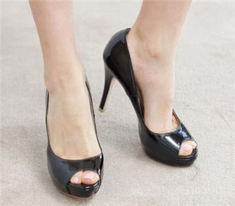 Hot-Sexy-Lady-Platform-Pumps-Peep-Toe-Women-039-s-High-Heels-Shoes