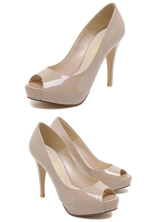С чем носить бежевые туфли - Блог о рукоделии и моде. поцарапала бежевые лаковые туфли!как можно