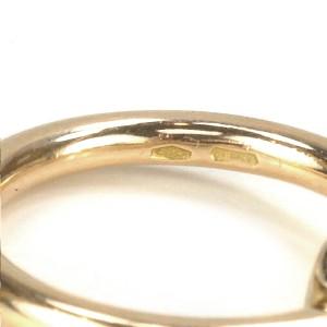 AUTHENTIC POMELLATO NUDO LEMON QUARTZ 18K ROSE GOLD RING SZ 6.75