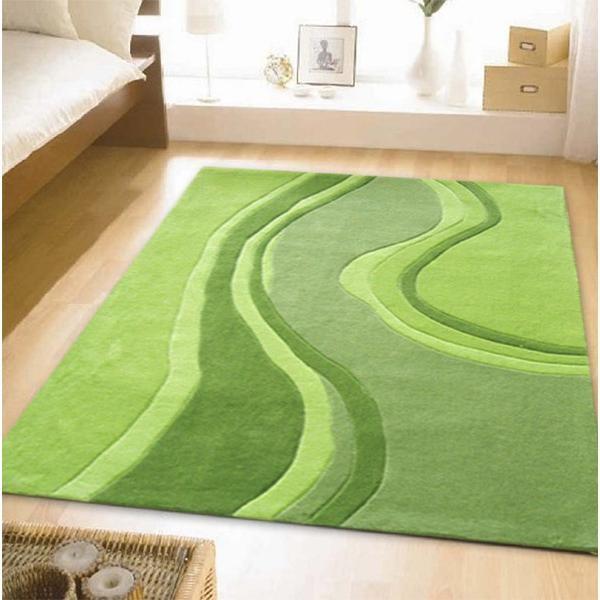 全新现代落地灰绿色地毯280