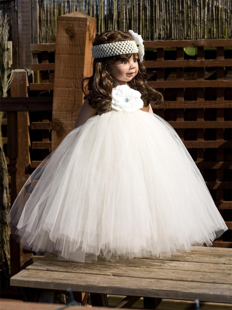 BABY-TODDLER-TUTU-DRESS-SKIRT-FULL-POOFY-FLOWER-GIRL-FAIRY-AGE-NEWBORN-1-2-3-4-5