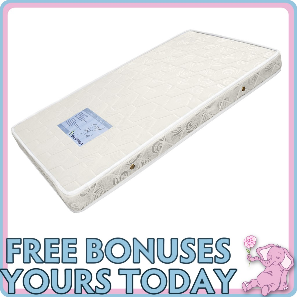 NEW-BABY-COT-FULL-SUPPORT-INNER-SPRING-FOAM-MATTRESS