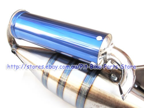 Racing v8 honda dio 50 dio50 exhaust muffler af34 af35 ebay for A href decoration none