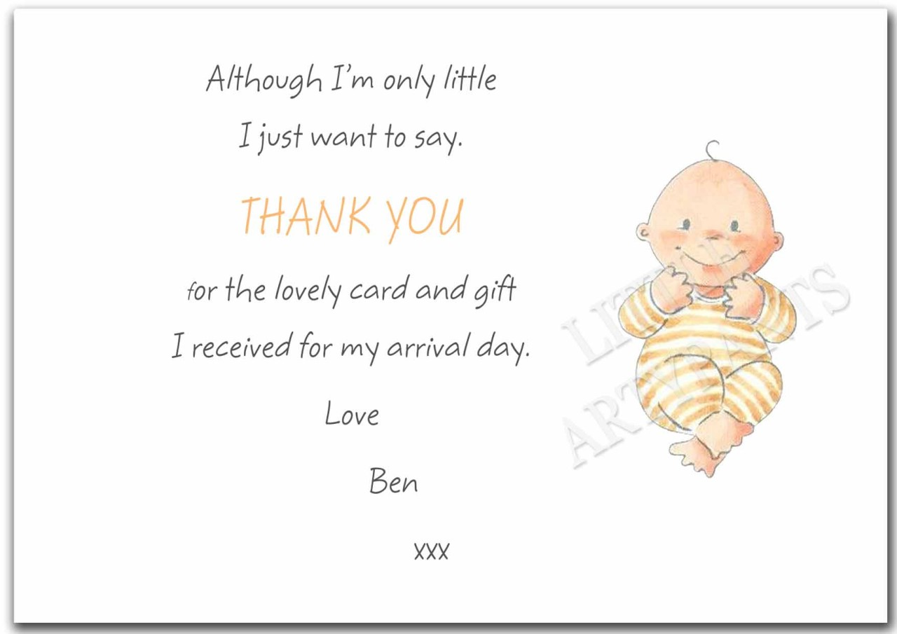 Thank You For Baby Gift Cards - Best Seller Gift Review