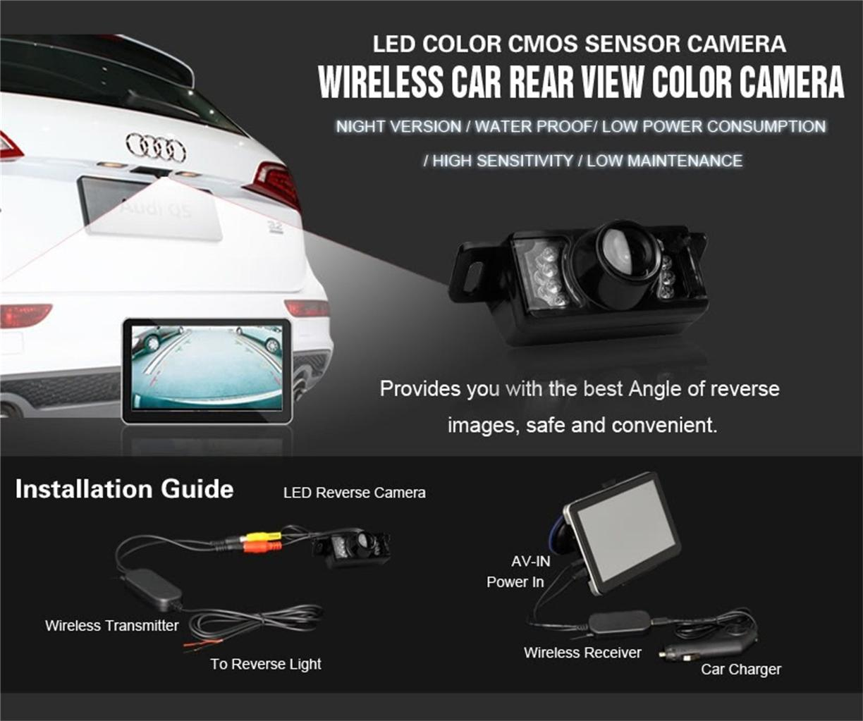 maginon wireless reversing camera manual