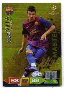 League Adrenalyn 2011 2012 David Villa Master Barcelona 11 12