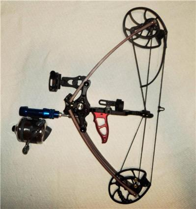 William tell archery supplies 40 60 lbs mini survival bow for Mini crossbow fishing