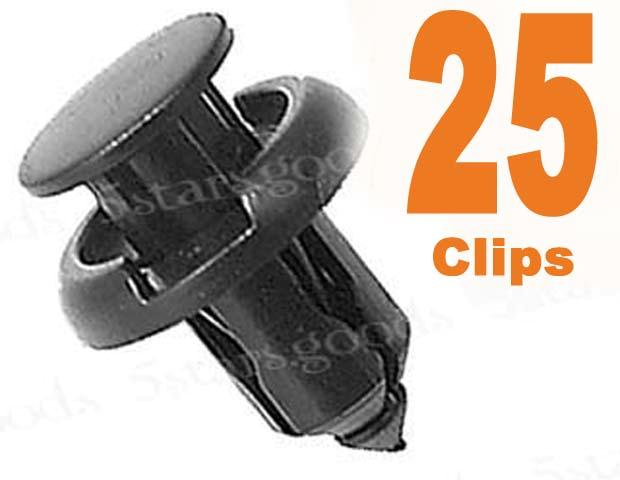 25 BUMPER CLIPS FOR ACURA INTEGRA LEGEND NSX MDX RSX TL | eBay