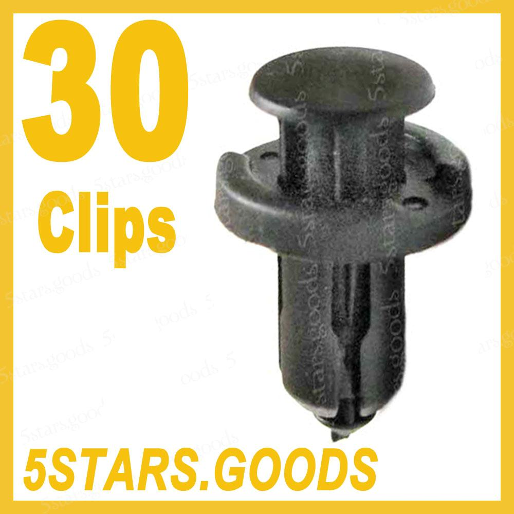 17 Acura Tl 1999 2000 2001 2002 2003 2004 2005 2006 2007: Front Rear Bumper Retainer Clips For Honda Acura Civic For