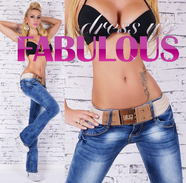Mens Bootleg Jeans