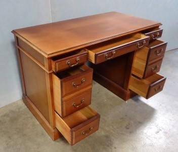 Vintage Sligh Lowry 7 Drawer Secretary Desk Very Nice Ebay
