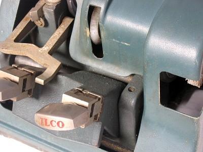 vintage ilco key machine